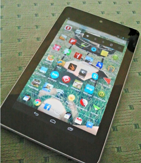 Nexus 7 3G aplikacje 32GB