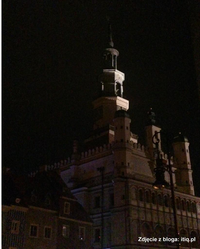Awaria prądu - Ciemny ratusz w Poznaniu