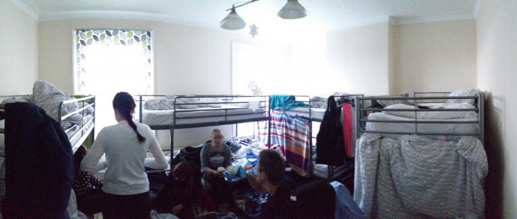 pokój 8 osobowy hostel le junction