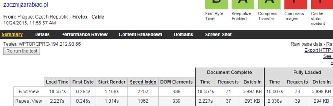 Test7 linuxpl_com - webpagetest.org - test hosting wordpress