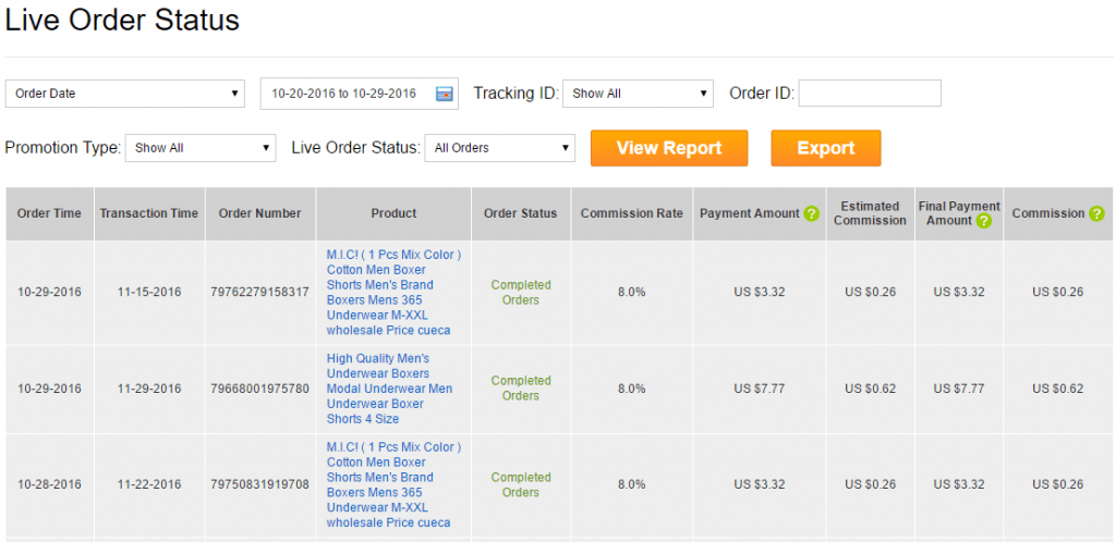 live order tracking aliexpress